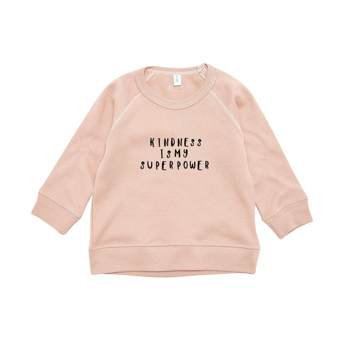 Organic Zoo Clay Kindness Sweater (6-12m left)