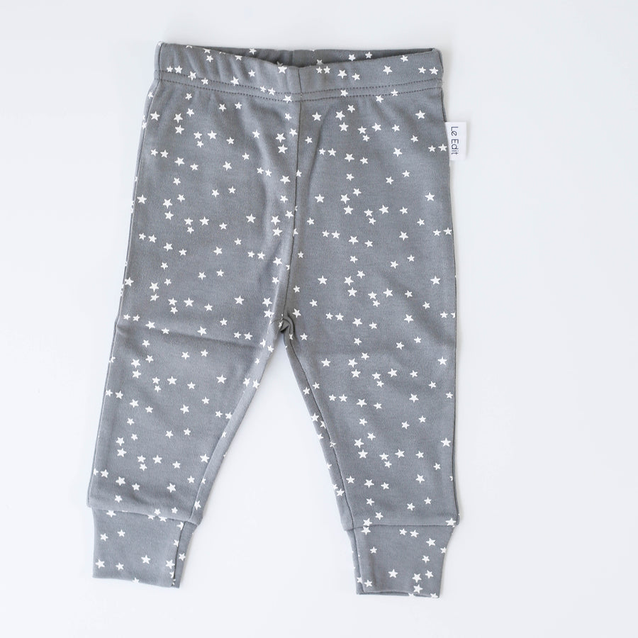 Stars Leggings Grey