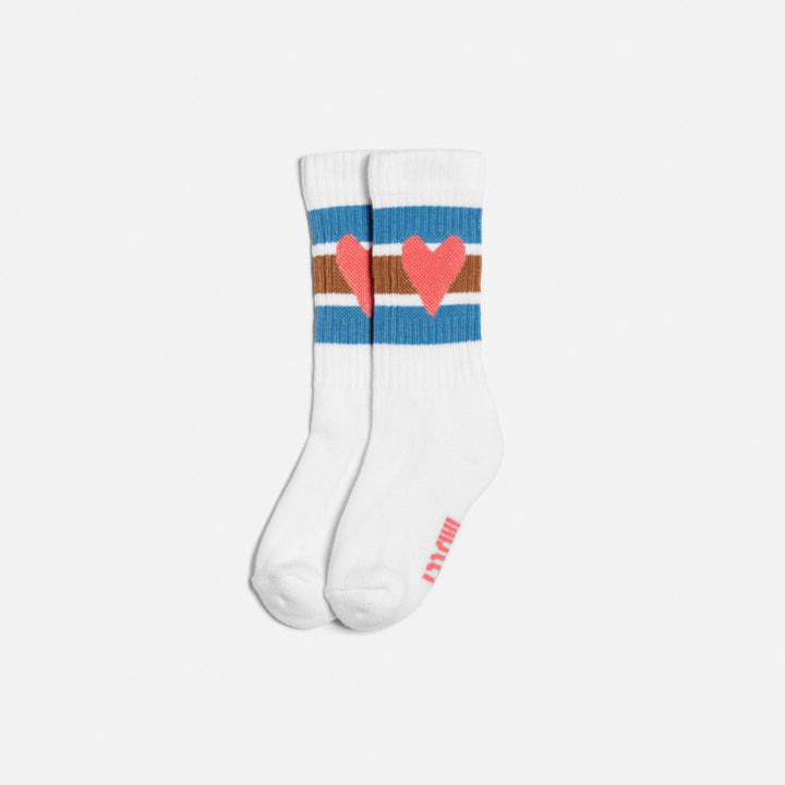 Lillster Love Poppy Pastellish Socks