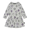 Little Man Happy Diamonds Skater Dress