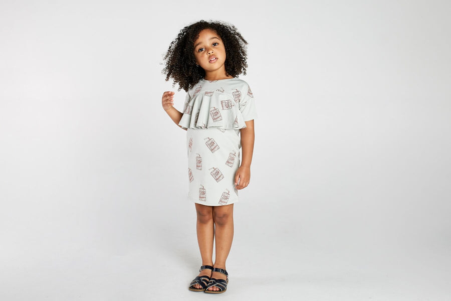 Mad About Mini Juicebox Front Tier Dress (last one 6-7y)