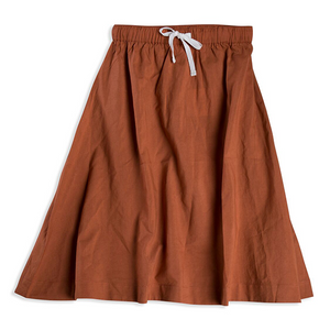 Mad About Mini Terracotta Midi Skirt (last one 2-3y)