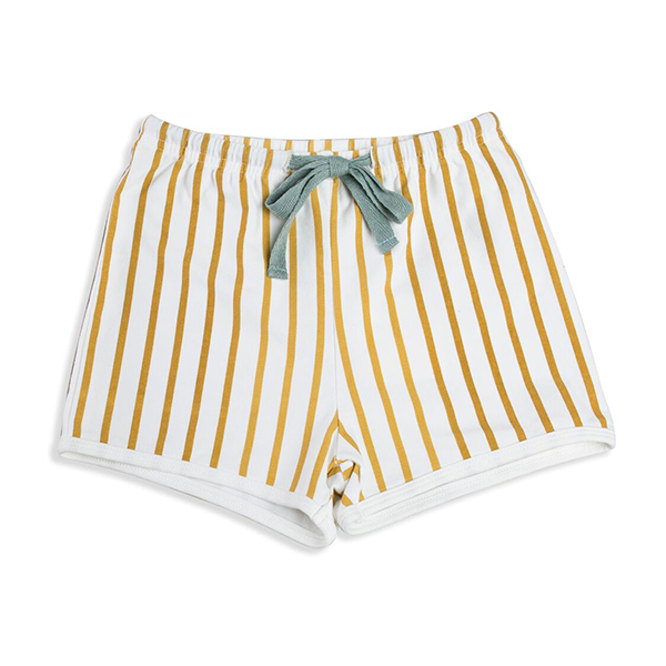 Mad About Mini Stripe Mustard Short (4-5y & 6-7y left)