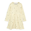 Mini Rodini Peace Pointelle Wool Dress
