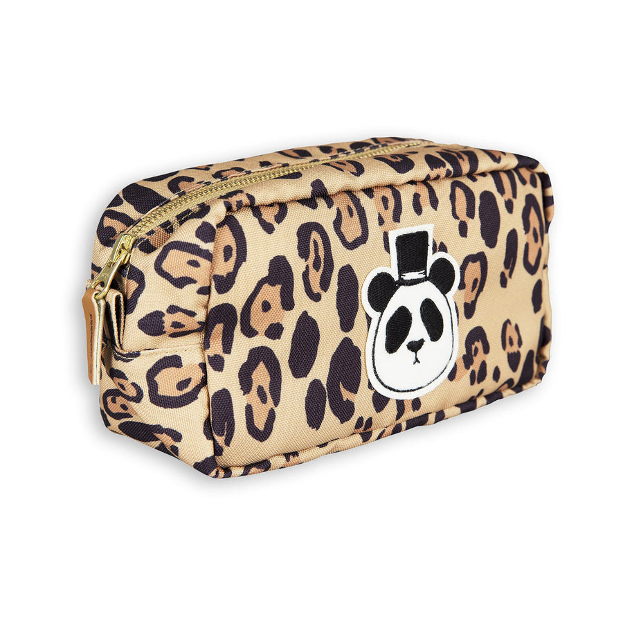 Mini Rodini Recycled Polyester Leopard Panda Case