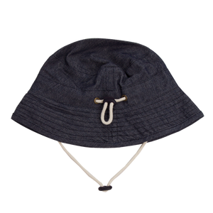 Nature Baby Denim Bucket Sunhat (last one- M)