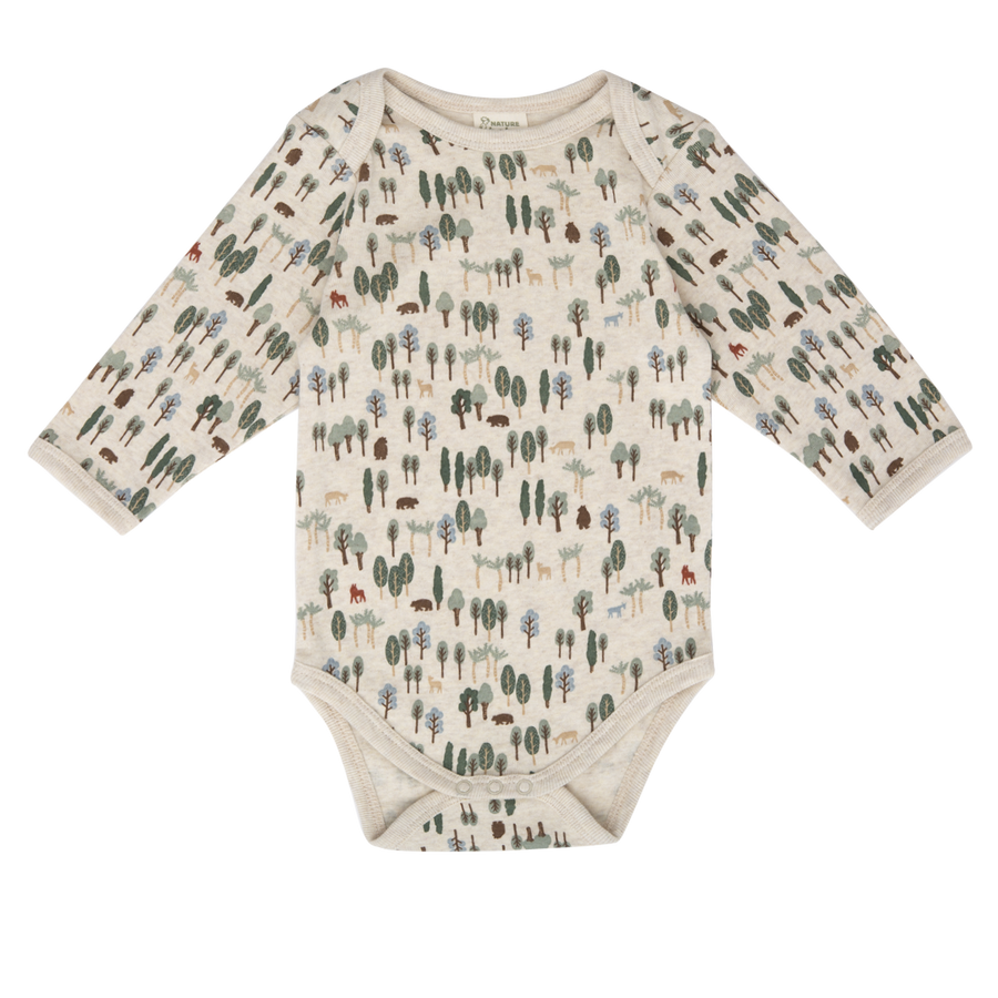 Nature Baby Forest Long Sleeve Bodysuit