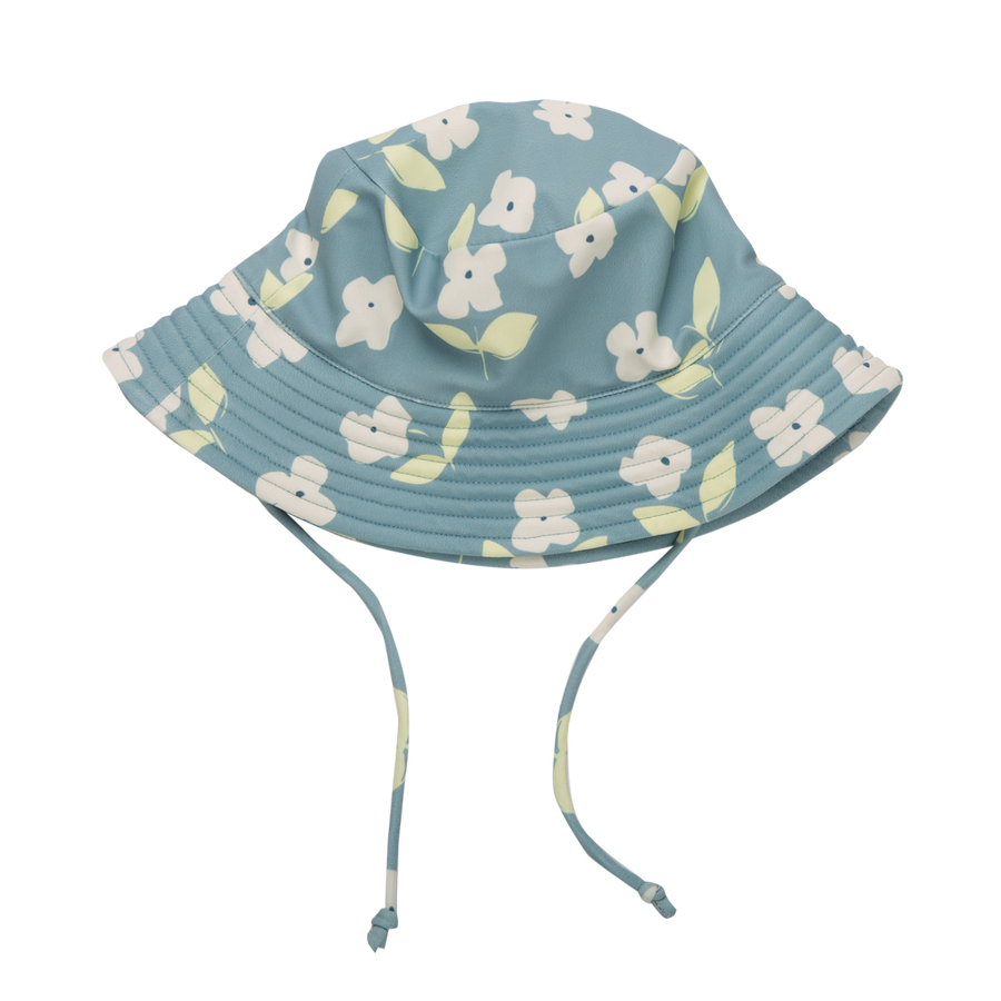 Nature Baby Toddler Sunhat in Meadow Blue Mist