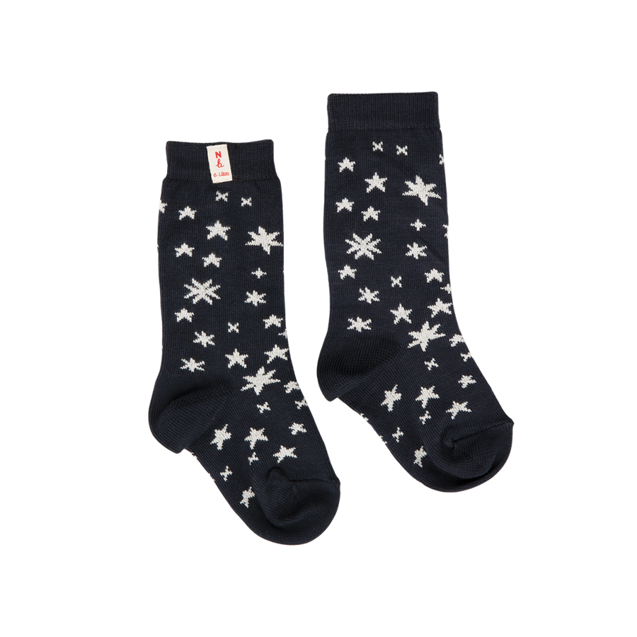 Nature Baby Organic Cotton Star Print Socks