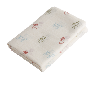 Nature Baby Print Muslin Wrap