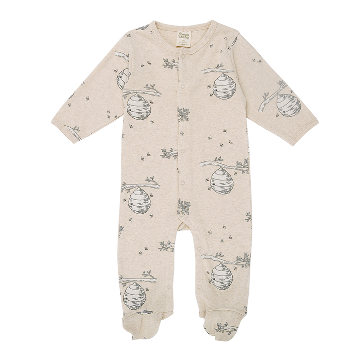 Nature Baby Beehive Print Stretch & Grow