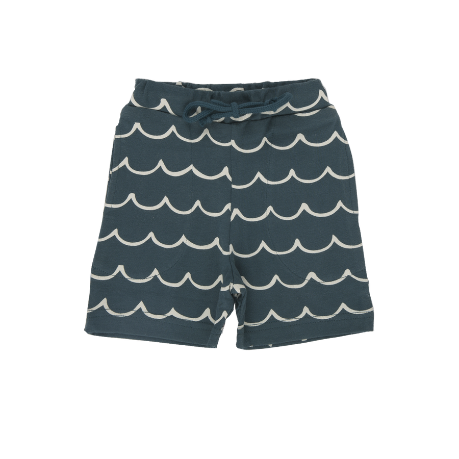 Nature Baby Little Wave Marine Jimmy Shorts (one left 2y)