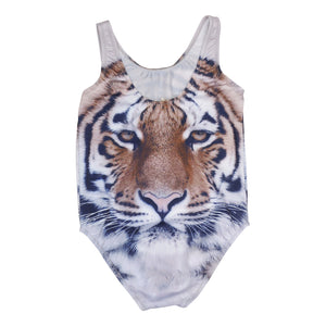 Popupshop Classic Tiger Swimsuit (last one 8-9y )