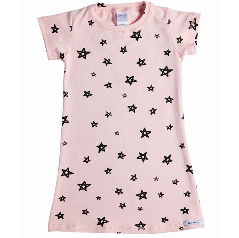 G.Nancy Rose Star Short Sleeve Nightie