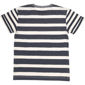 Short Sleeve T Shirt Printed Stripes