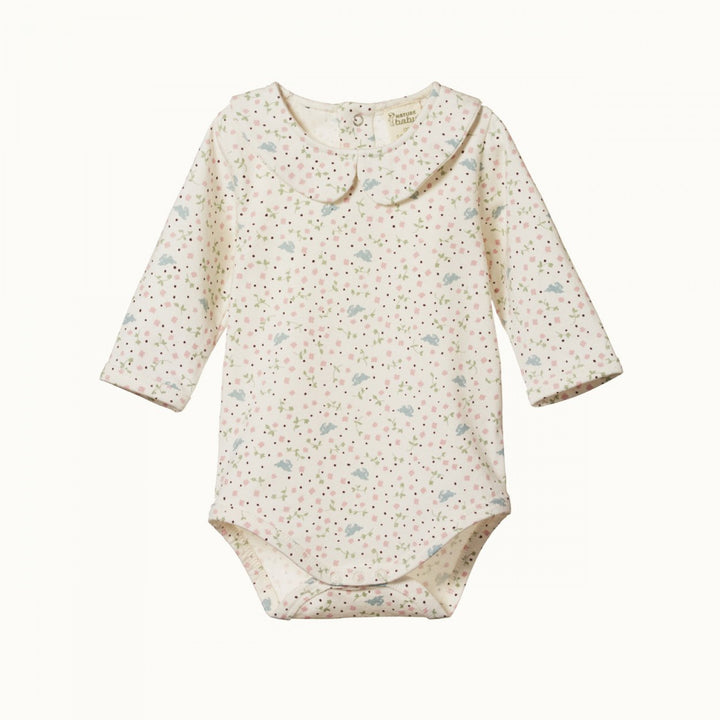 Nature Baby Sweet Pea Posey Bodysuit