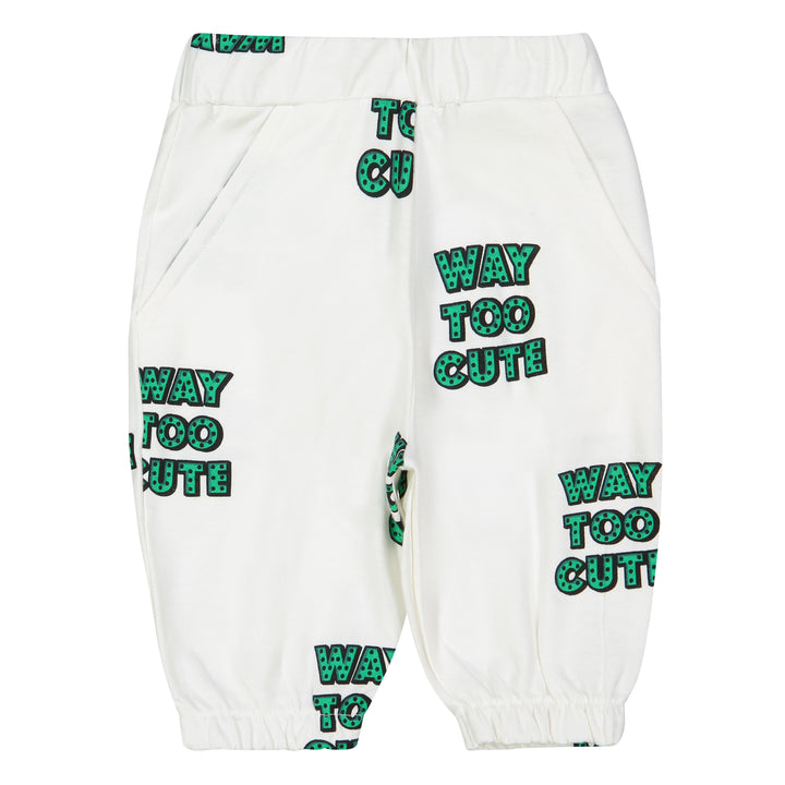 Hugo Loves Tiki Way Too Cute Knee Sweatshorts (size 8 & 10y left)