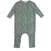 Mad About Mini Fawn Button Up Onesie (LAST ONE 0-3m)
