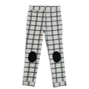 Mad About Mini Herringbone Check Patch Legging