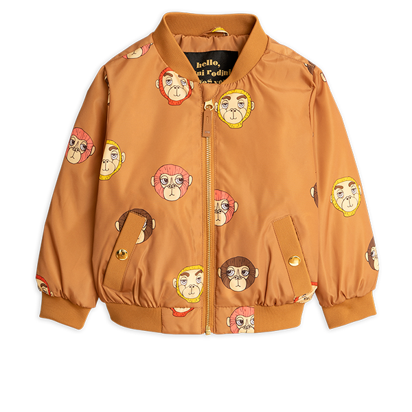 Mini Rodini Monkey Baseball Jacket
