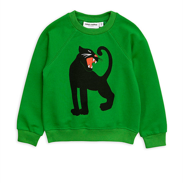 Mini Rodini Green Panther Sweatshirt