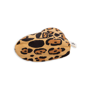 Mini Rodini Basic Organic Leopard Baby Booties