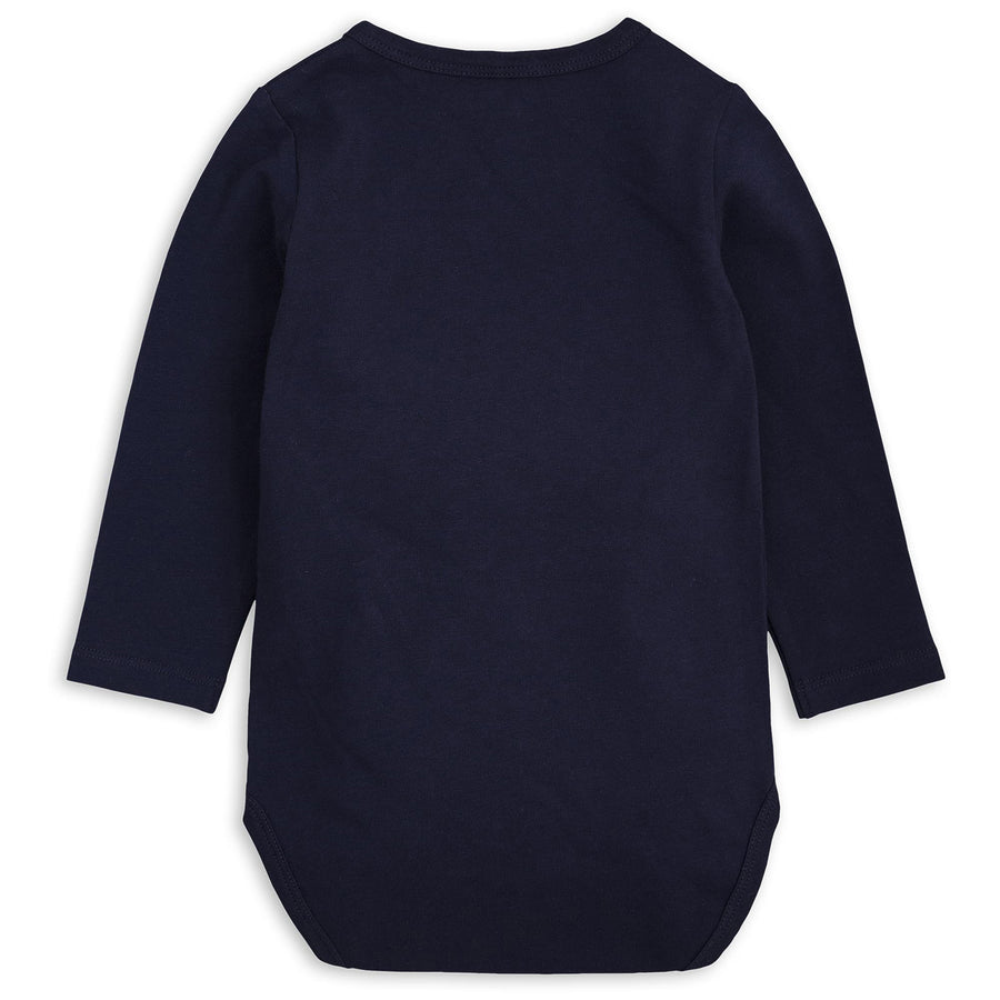 Mini Rodini Basic Long Sleeve Body Navy