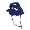 Mini Rodini Dot Sun Cap Navy (4-9m left)
