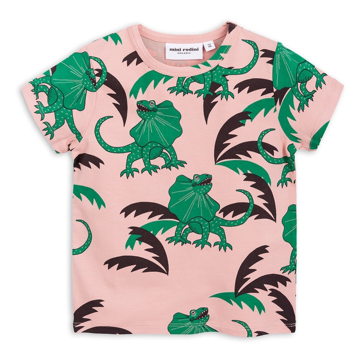 Mini Rodini Draco Short Sleeve Tee Green (last one 1-4m)