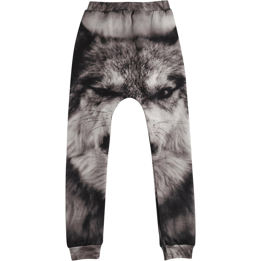 Baggy Leggings Wolf AOP (last one 12-18m)
