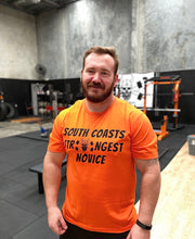 Load image into Gallery viewer, South Coast Strongman Tee