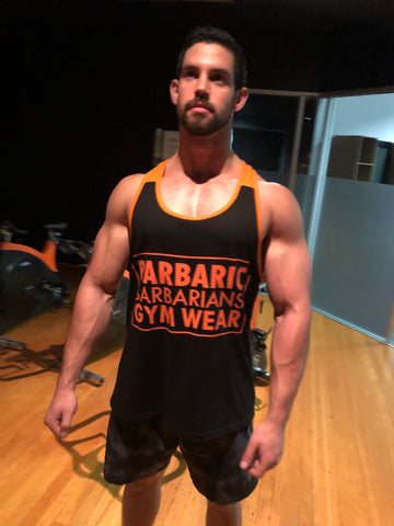 Barbarians T Back singlet
