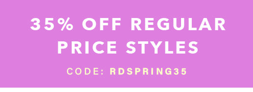 35 off reg price sale