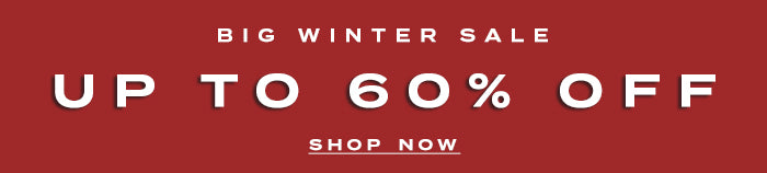 Big Winter Sale Up To 60% Off