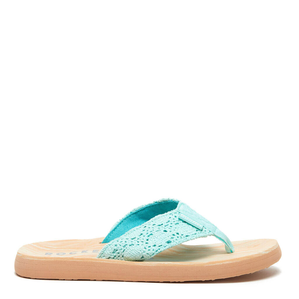 Rocket Dog® Adios Mint Crochet Flip Flop