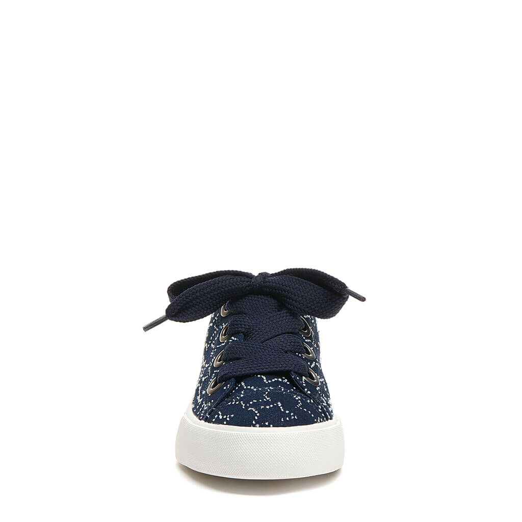 Athena Navy Star Slip-On Sneaker