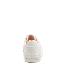 Checker White Canvas Sneaker
