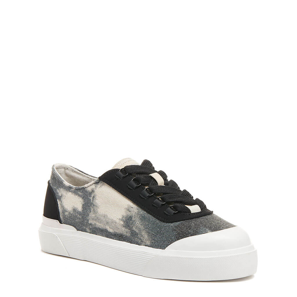 Elia Grey Abstract Sneaker