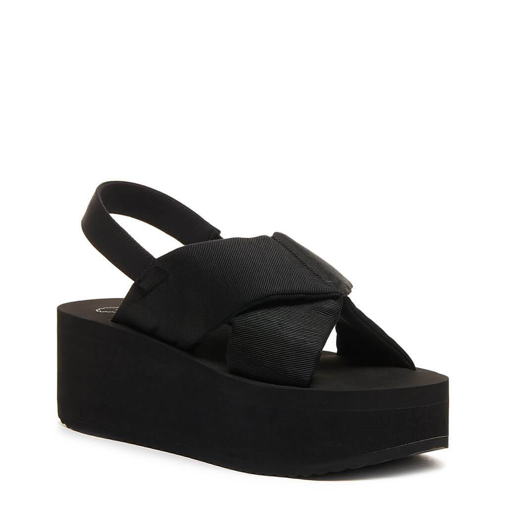 Rocket Dog® Hanalei Black Platform Sandal