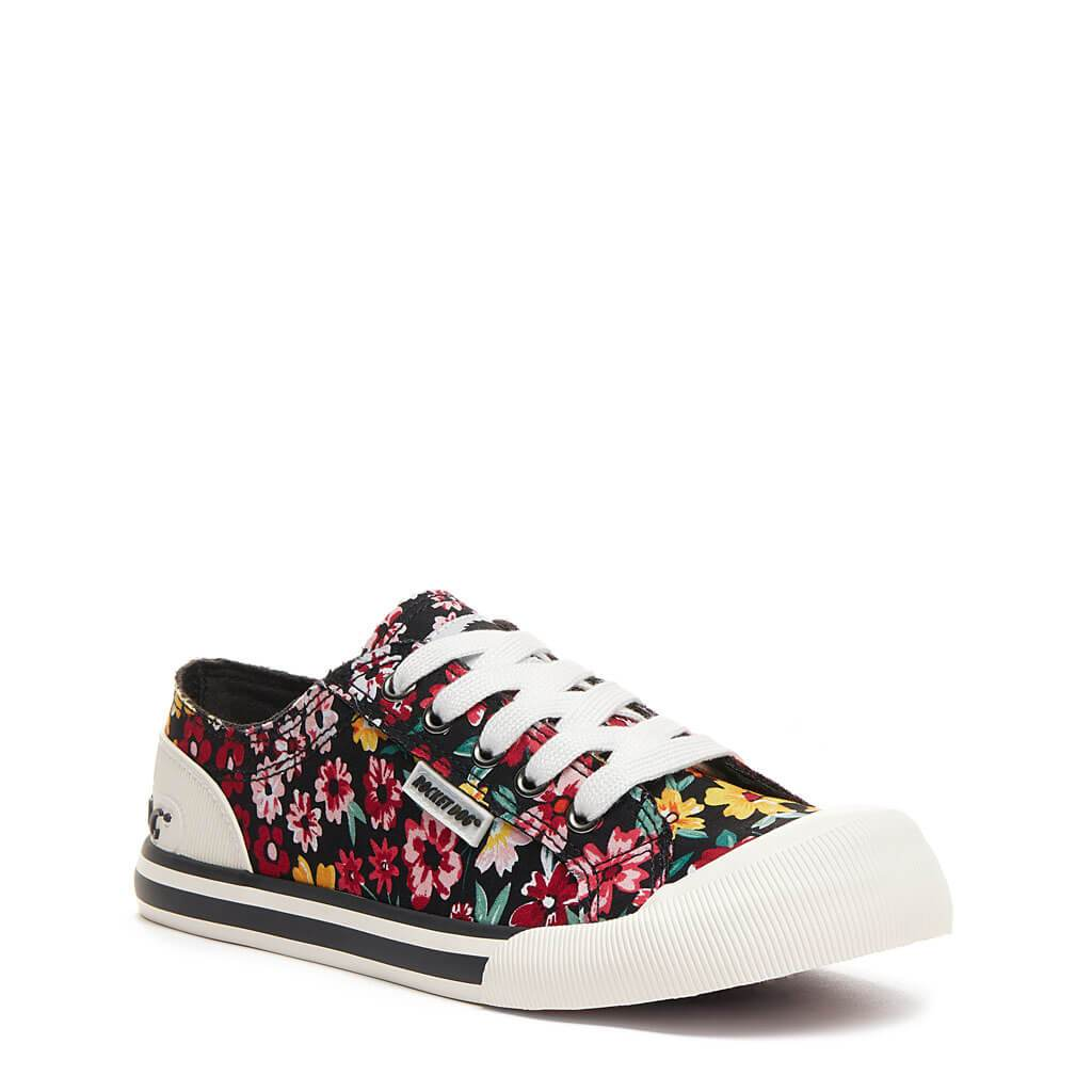 Rocket Dog® Jazzin Black Margate Floral