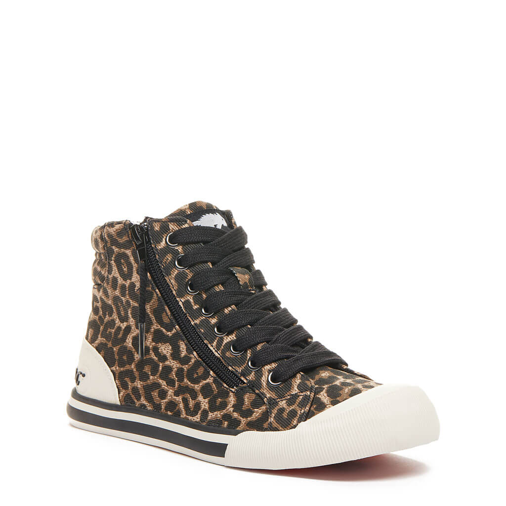 Rocket Dog® Jazzin Cheetah Print High Top Sneakers