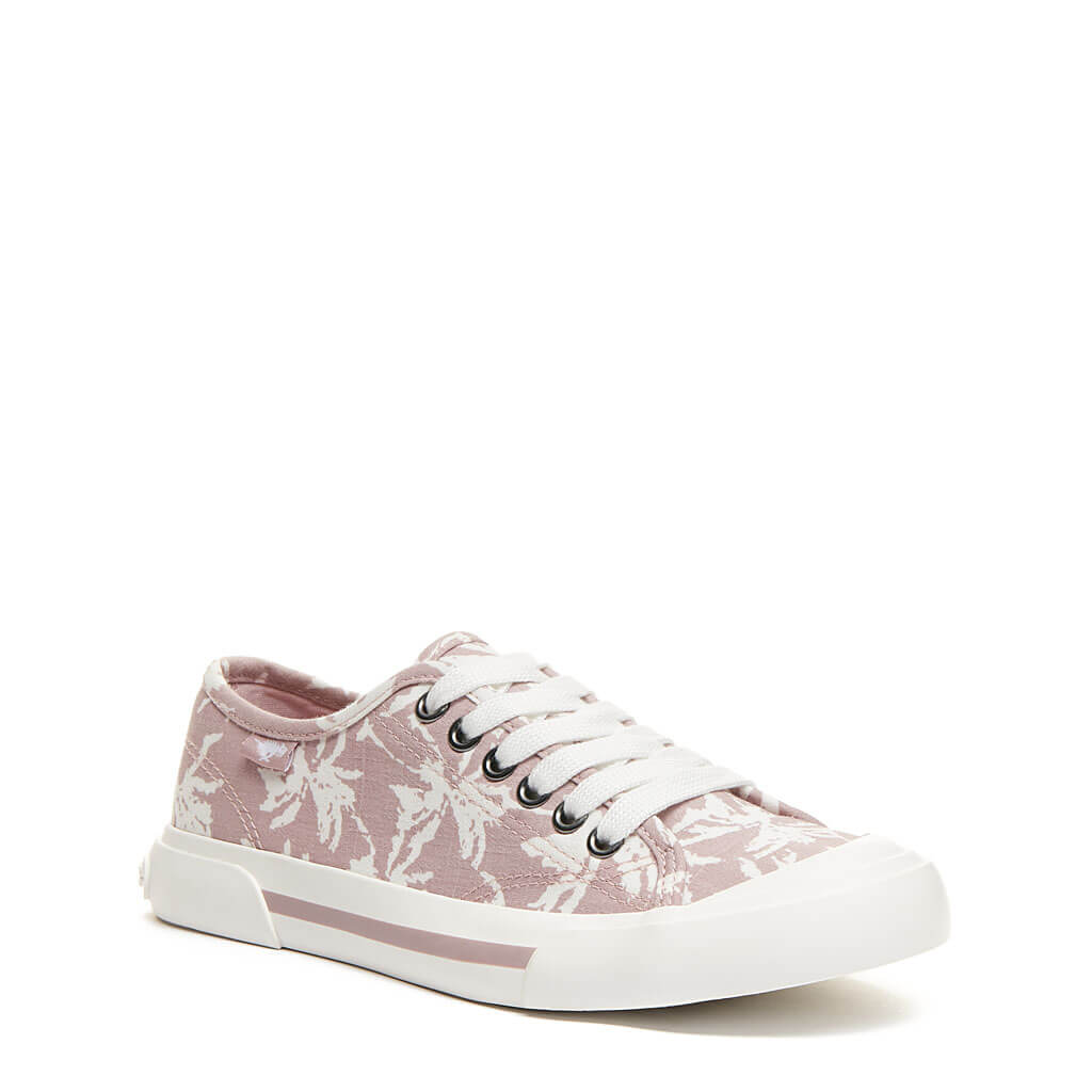 Rocket Dog® Jumpin Pink Palm Tree Sneaker