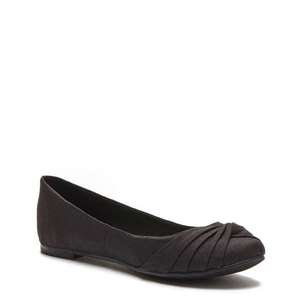 Myrna Thai Silk Black Flat