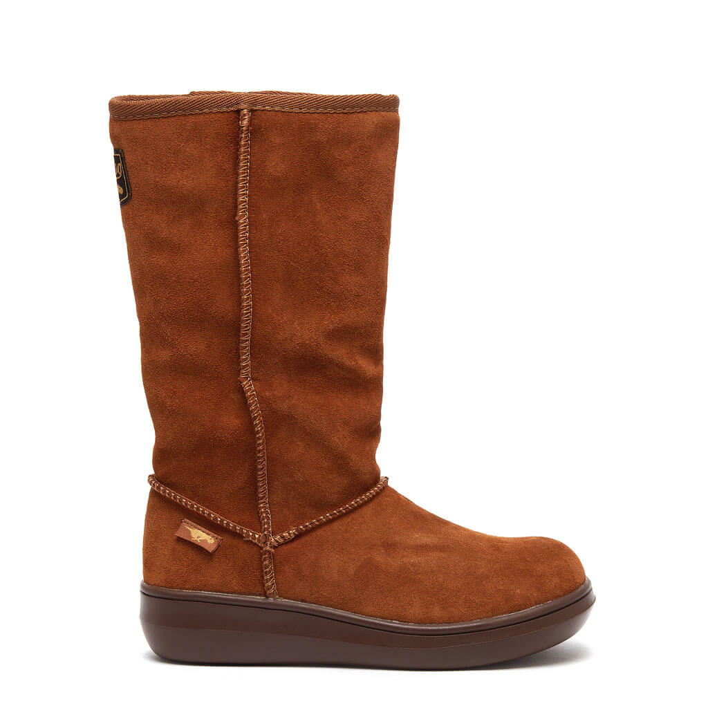 Sugar Daddy Chestnut Boots