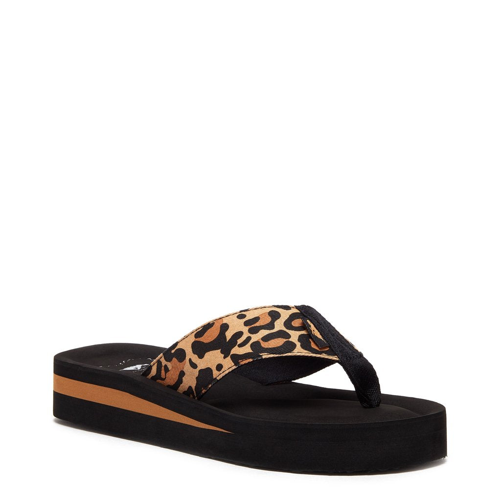 Winner Natural Cheetah Flip Flop