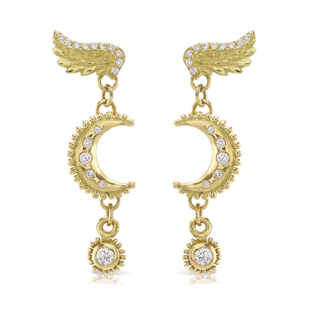 Venetian Moon Earrings