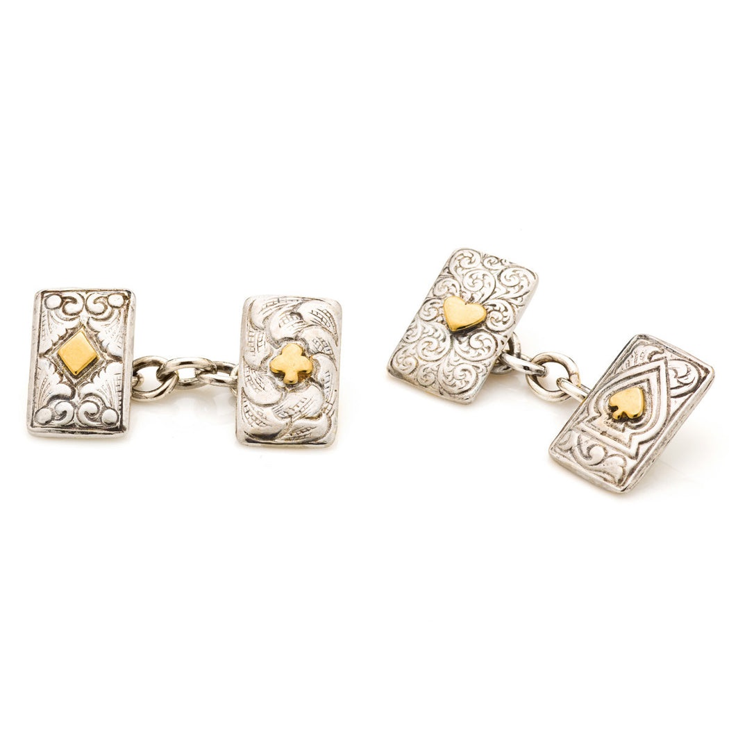Bonne Chance Cufflinks