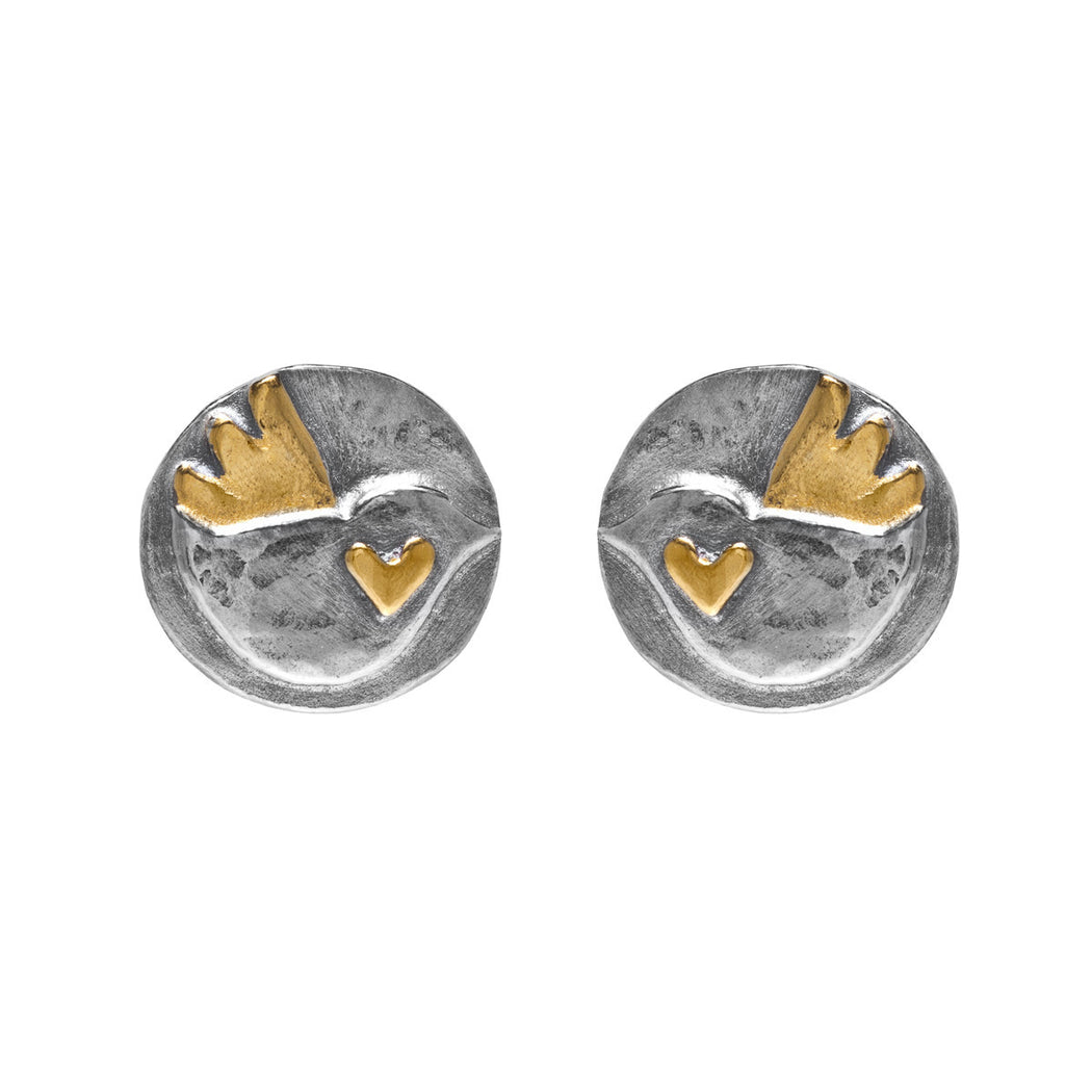 Chickadee Stud Earrings