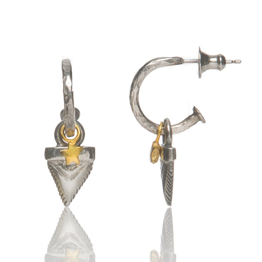 Sharks Tooth Earrings