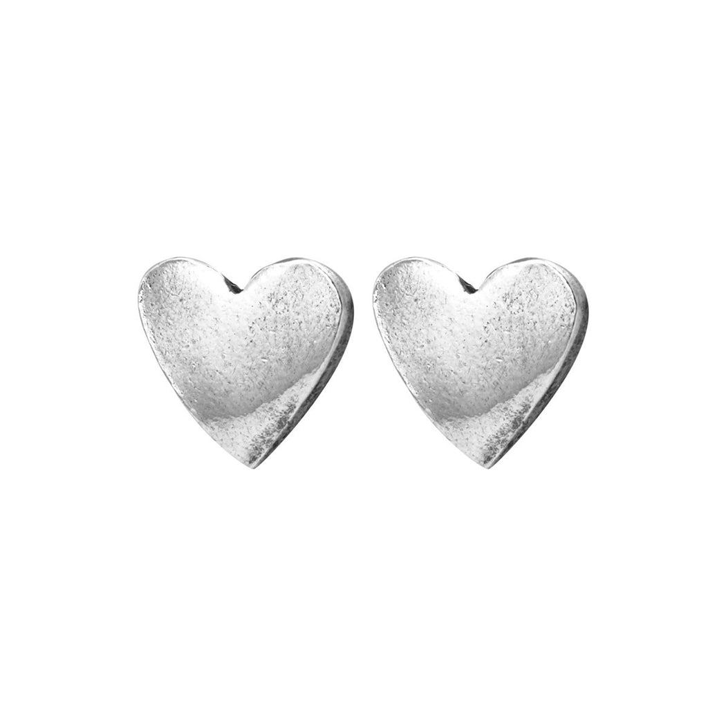 Tiny Heart Earrings